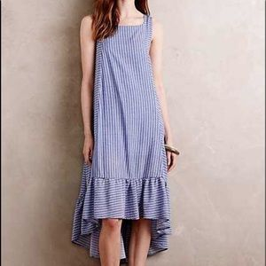 Anthropologie Holding Horses Striped Dress